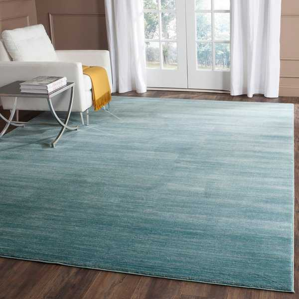Safavieh Vision Contemporary Tonal Aqua Blue Area Rug - 8' x 10'