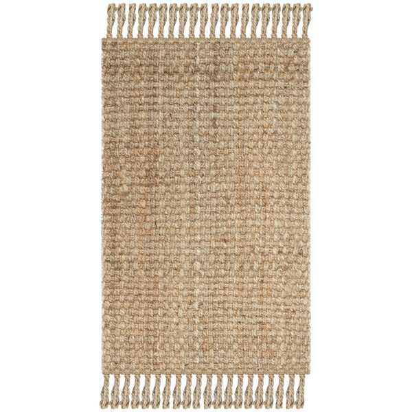Safavieh Casual Natural Fiber Hand-Woven Natural Jute Rug - 2'6' x 4'