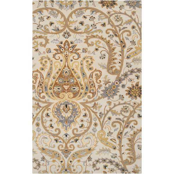 Hand-tufted Buffalo Semi-worsted New Zealand Wool Area Rug
